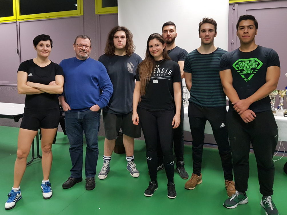 Haltéro club lyonnais force athlétique compétition Lyon
