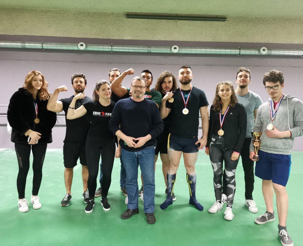 Haltero Club Lyonnais Force Athlétique à Lyon